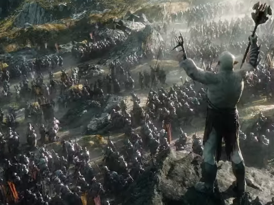 battle of the five armies featured