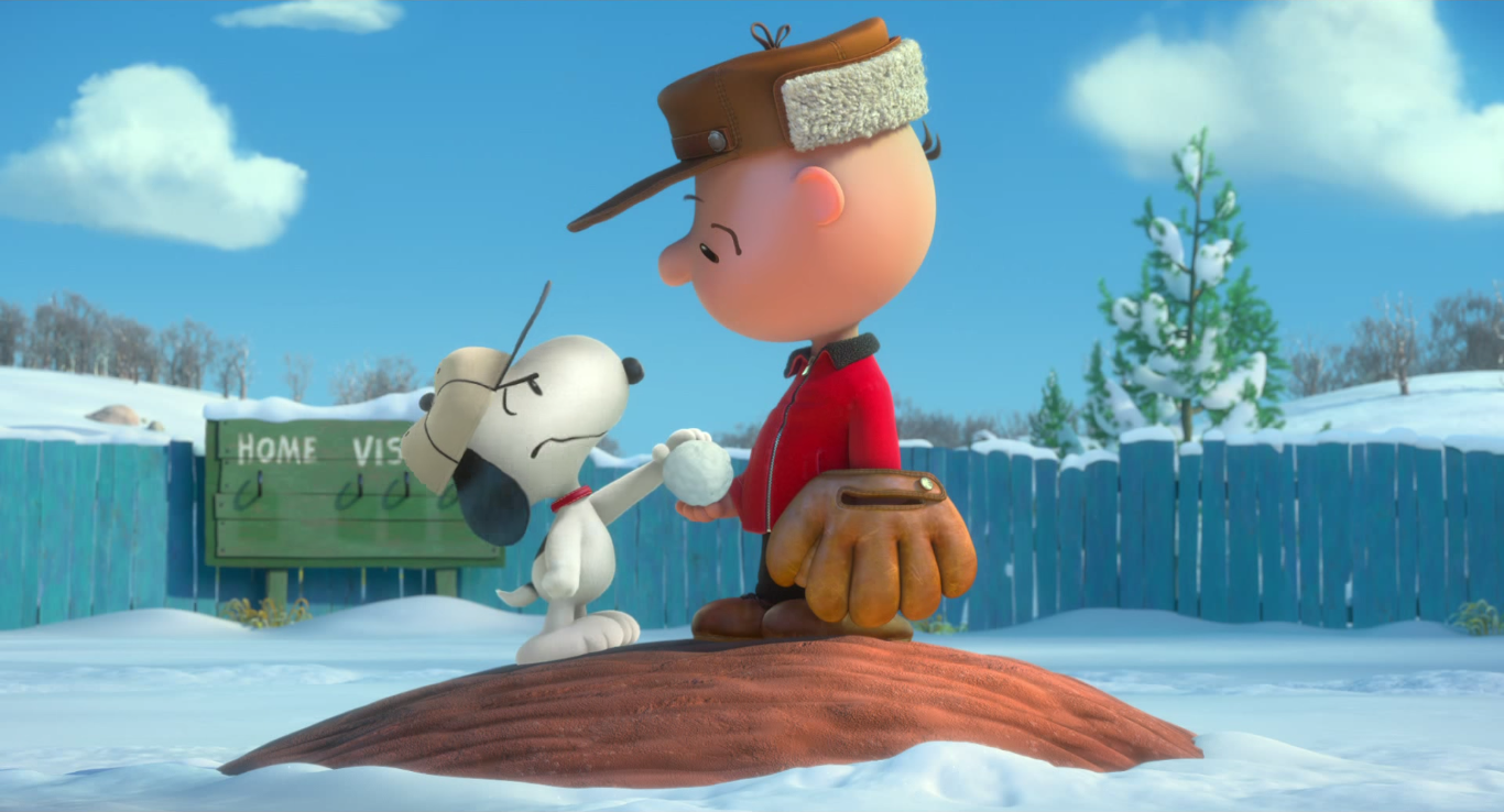 the peanuts movie 2015 � official trailer 1 reaction