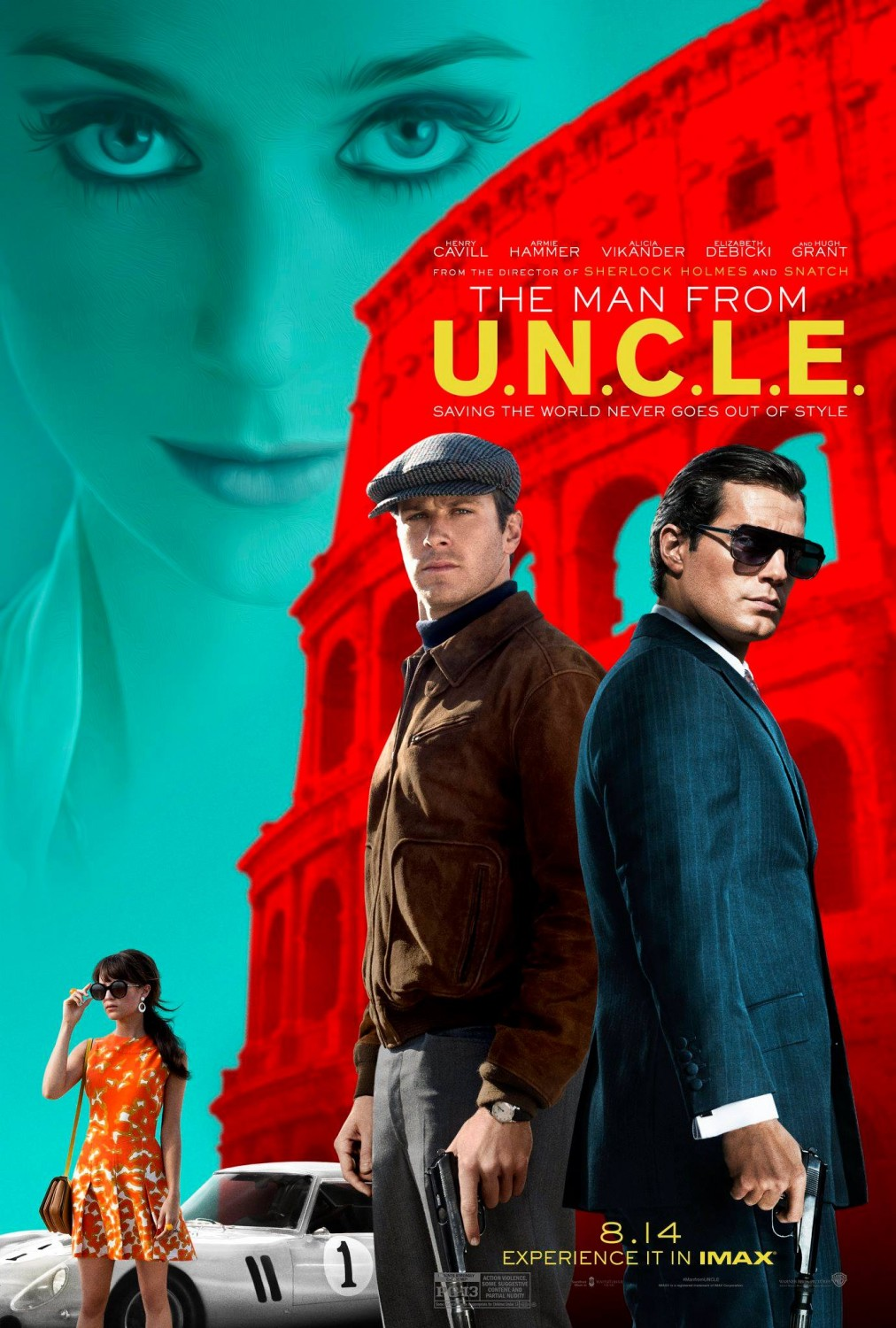 6 - Man From U.N.C.L.E