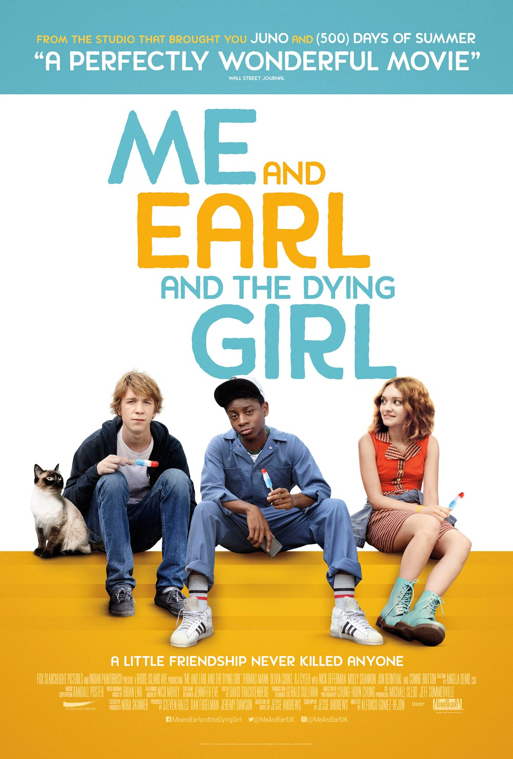 3 - Me, Earl and the Dying Girl