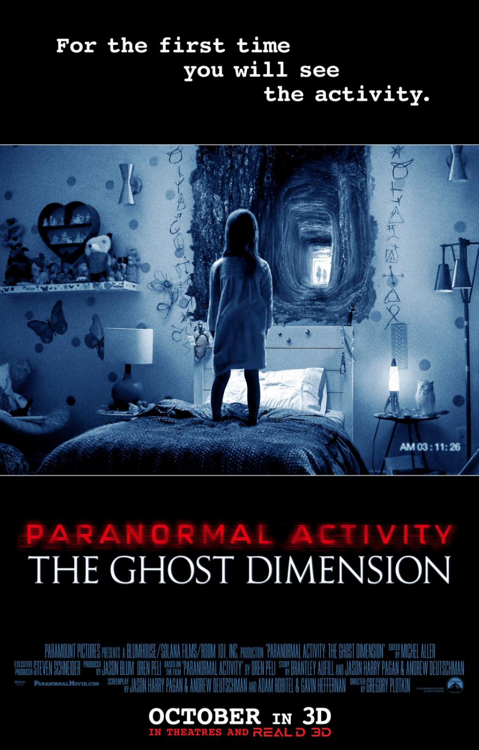 12 - Paranormal Activity The Ghost Dimension
