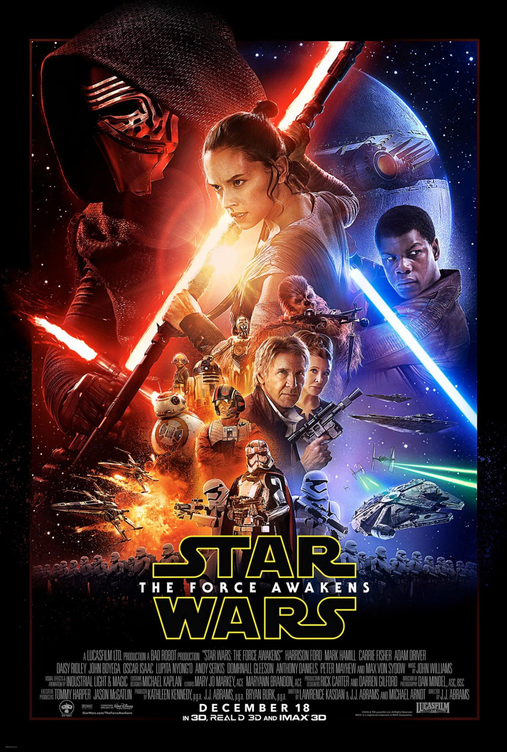 force awakens poster