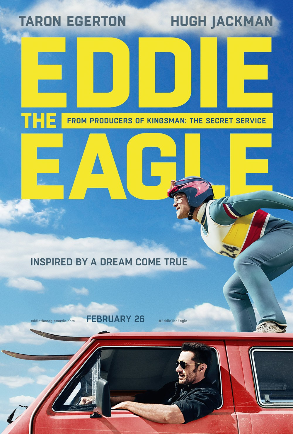 1 - Eddie the Eagle