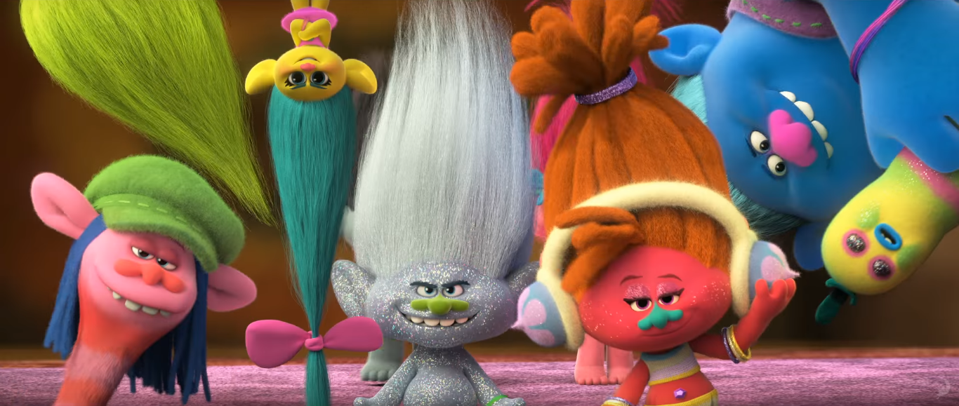 The Trolls Have No Such Back Catalogue And Only Thing That Sets Them Apart Is Their Visual Design Most Notably Hair